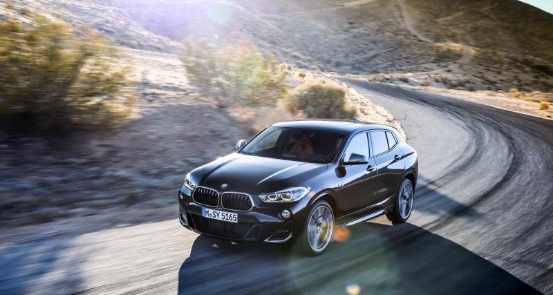 BMW X2 M35i : photos et fiche technique