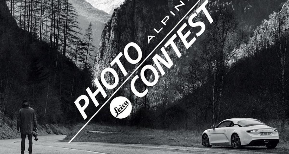 Un road trip avec l'Alpine A110 à gagner grâce à Leica