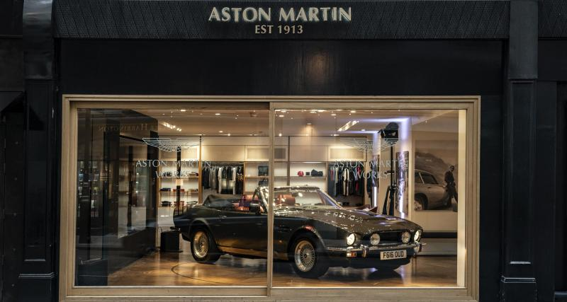 Aston Martin ouvre sa concession de voitures anciennes !
