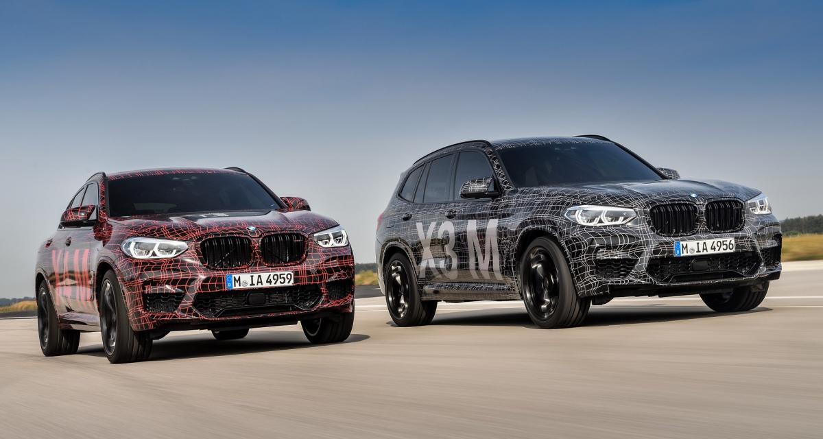 BMW lancera enfin les X3 M et X4 M