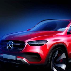 Nouveau Mercedes GLE : tout en rondeurs