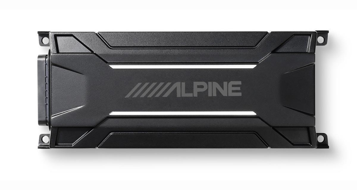 Alpine commercialise un nouvel ampli compact et water resistant