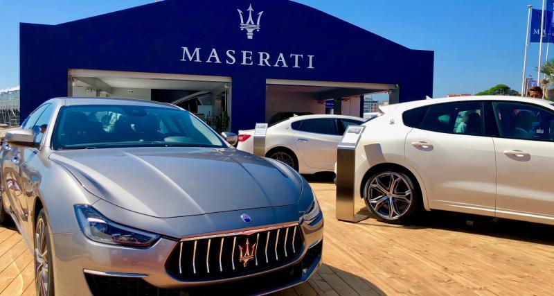 Maserati partenaire officiel du Cannes Yachting Festival