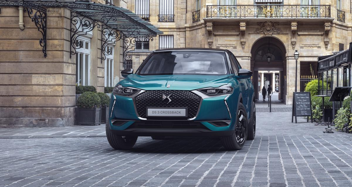 DS 3 Crossback : les photos officielles du crossover