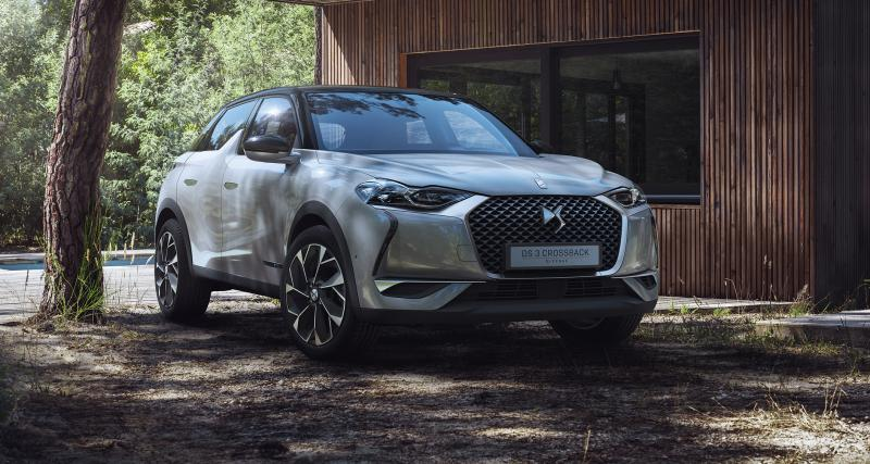 DS 3 Crossback E-Tense : les photos officielles du crossover