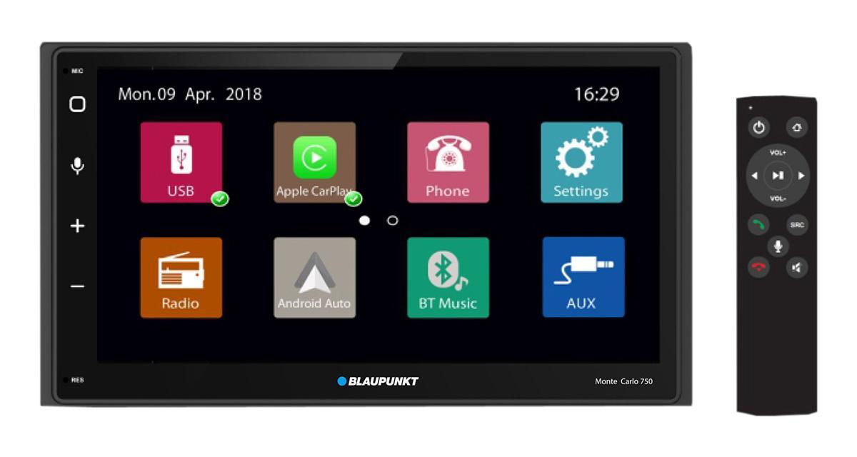 Blaupunkt commercialise un autoradio CarPlay et Android Auto en Asie