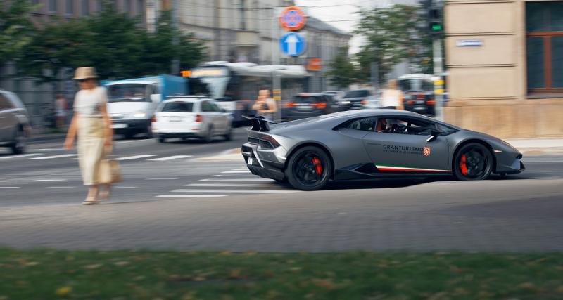 Un PV de 39 000 euros en Lamborghini