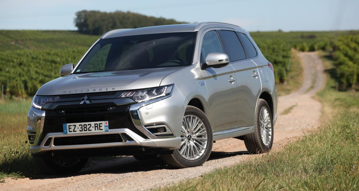 mitsubishi outlander phev 2019 notre essai du suv hybride rechargeable. Black Bedroom Furniture Sets. Home Design Ideas