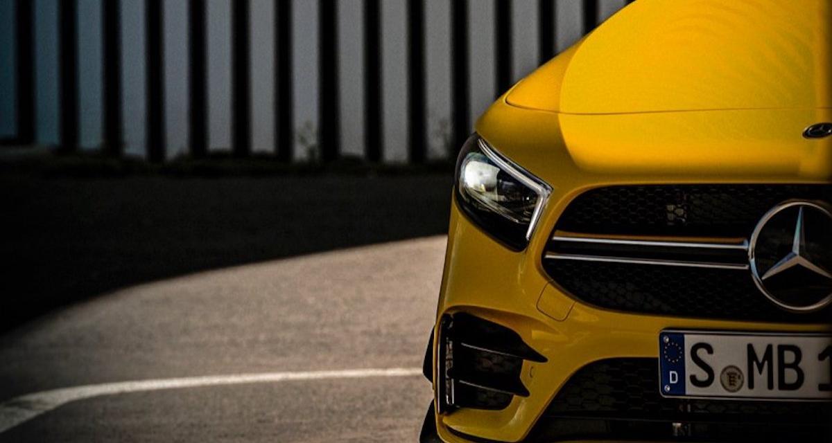 La Mercedes-AMG A 45 en teaser avant le Mondial ?
