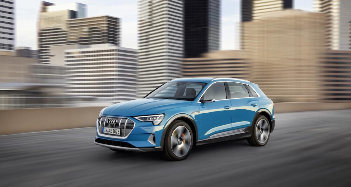 Audi e-tron quattro : le vrai rival du Tesla Model X, c'est lui