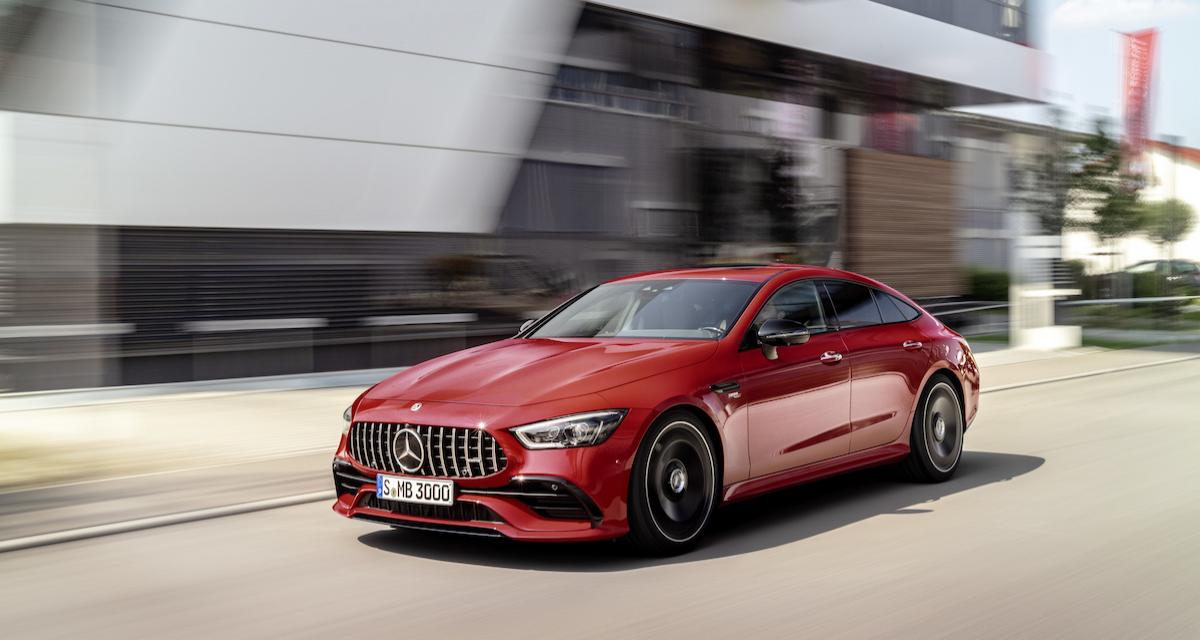 """Mercedes-AMG GT 4 portes : une """"petite"""" version 43 fait son entrée"""