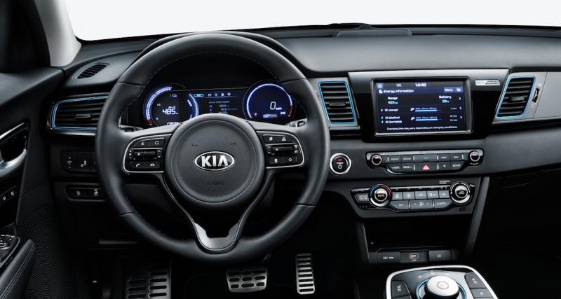 Des motorisations et batteries empruntées au Hyundai Kona