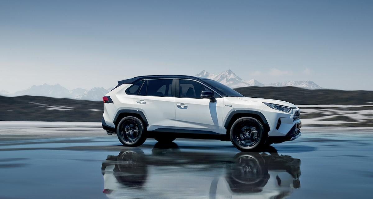 Toyota RAV4 2019 : la version européenne au Mondial