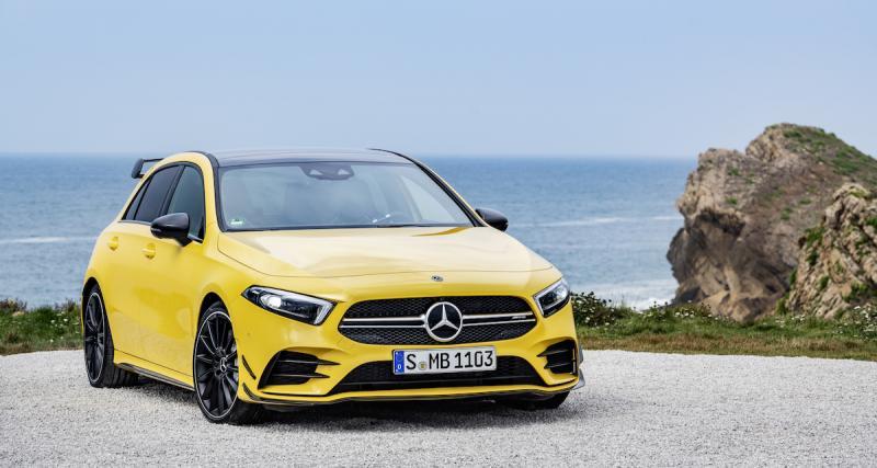 Mercedes-AMG A 35 (2019) - L'Audi S3 en ligne de mire