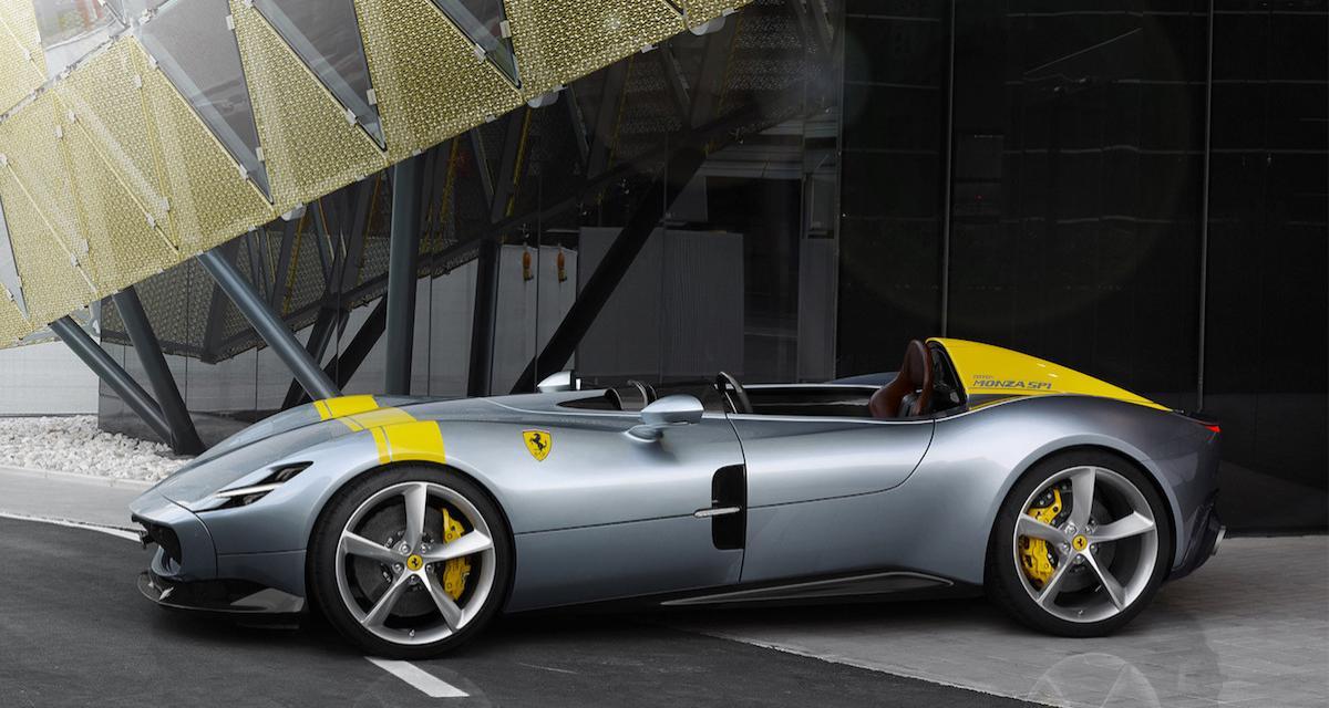 Ferrari Monza SP1 et SP2 : la 812 en mode barquette