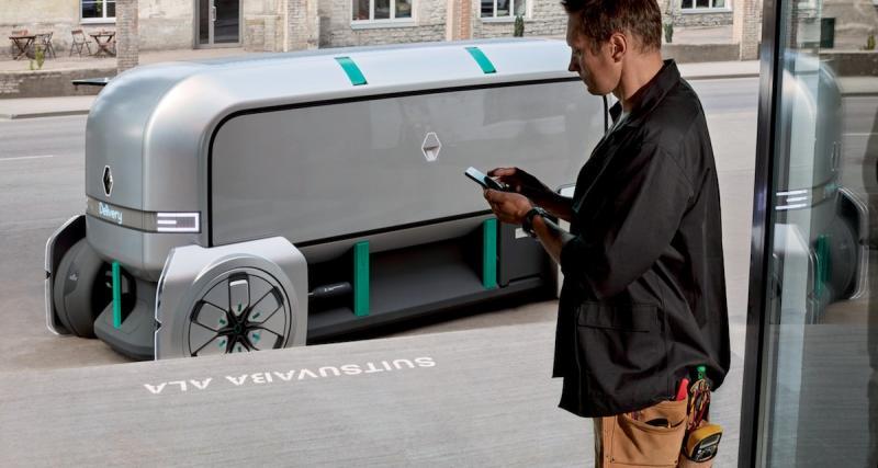 Renault EZ-PRO : il livrera vos colis tout seul, enfin presque