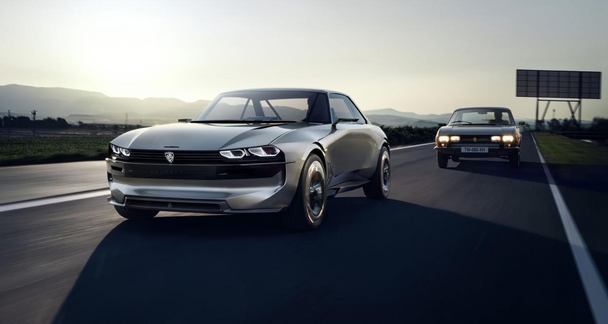 Peugeot e-Legend : une 504 Coupé pour remplacer le RCZ ?