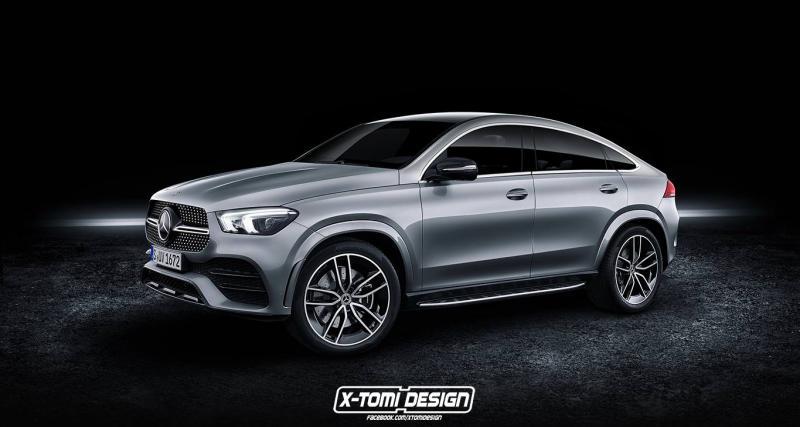 Nouveau Mercedes GLE : le Coupé plus vrai que nature