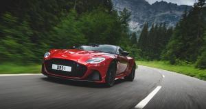 L'Aston Martin DBS Superleggera voit rouge, découvrez les photos