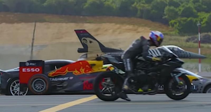 Vidéo : course de drag avec les engins les plus rapides au monde