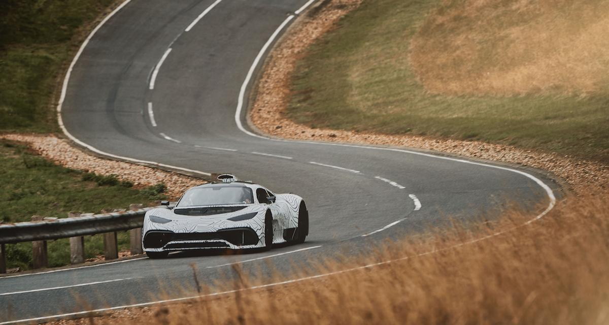 Mercedes-AMG Project ONE : le prototype prend la route