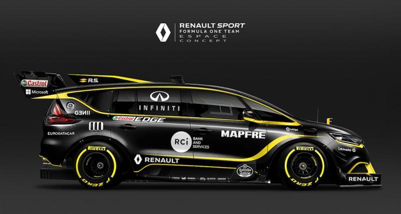 Le Renault Espace F1 à la sauce 2018