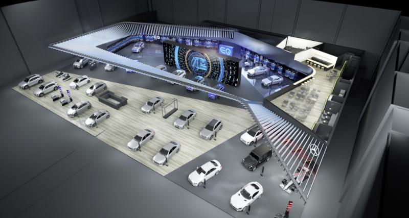 Salon de l'Auto 2018 : les nouveautés sur le stand Mercedes