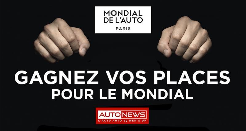 Gagnez vos places pour le Mondial de l'Auto !