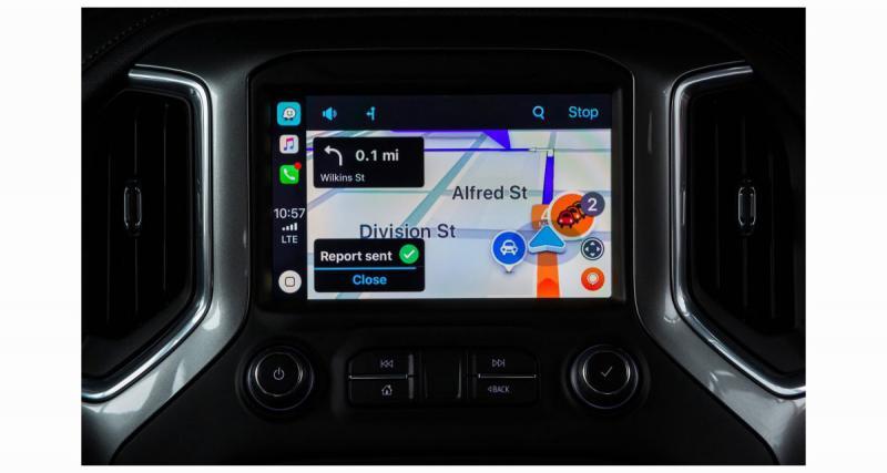 Avec l'iOS12, Waze devient disponible dans le CarPlay