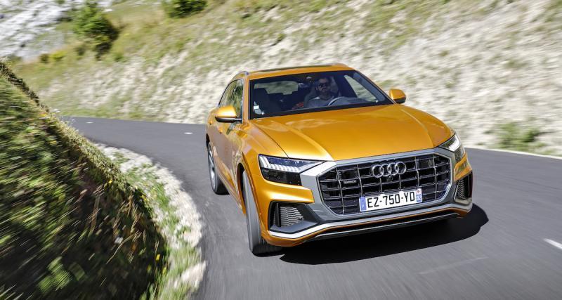 Essai Audi Q8 : le SUV coupé qui n'en n'a pas l'air