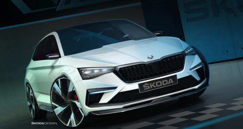 Skoda Vision RS : avec une motorisation hybride rechargeable très réaliste
