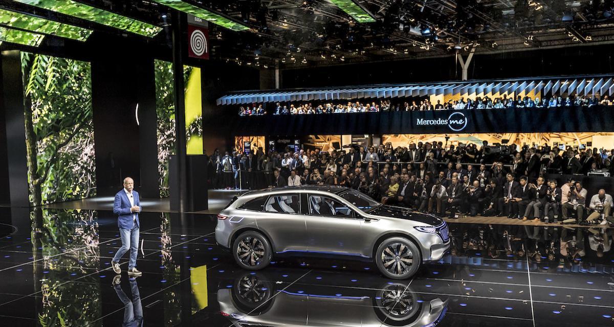 Mondial de l'Auto 2018 : regardez la conférence Mercedes en direct