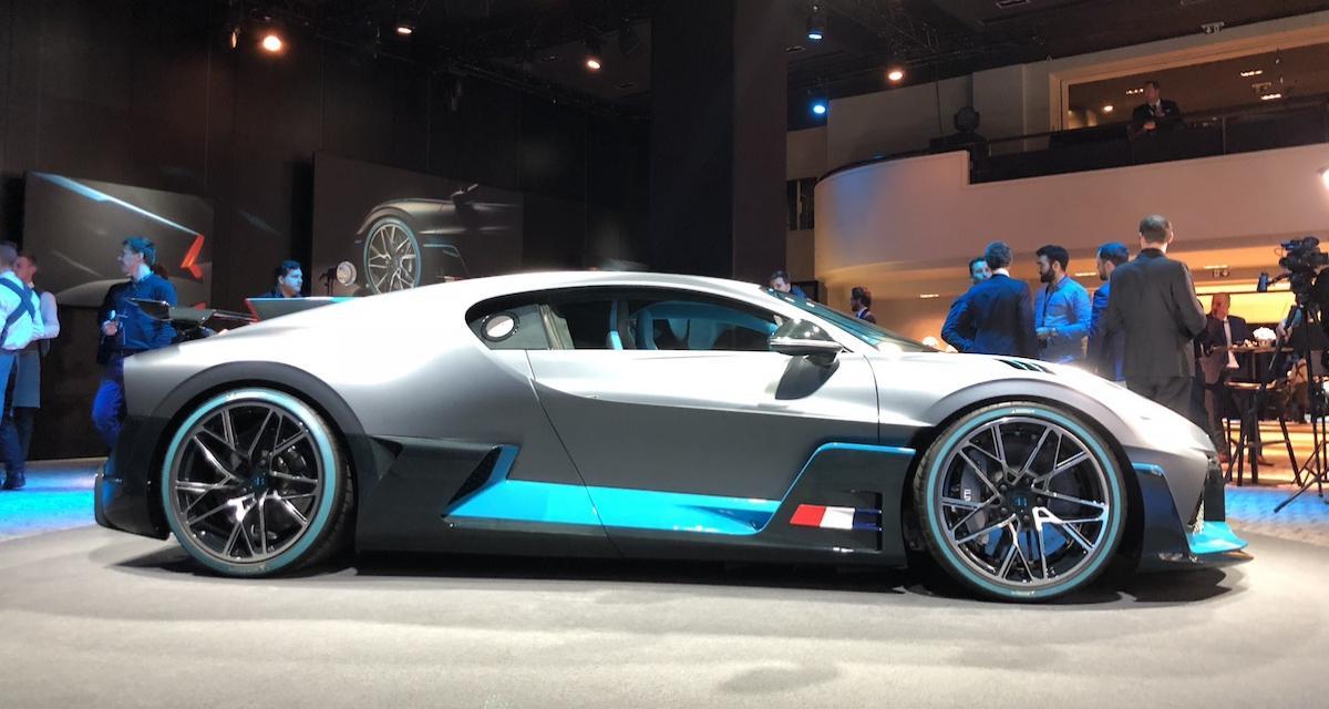 Bugatti Divo : nos premières photos du bolide à 5 millions d'euros