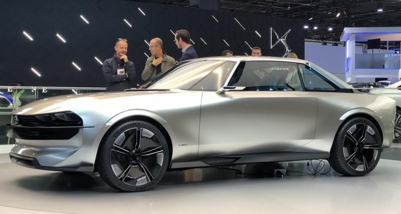Mondial de l'Auto - Peugeot e-Legend Concept : retour vers le futur