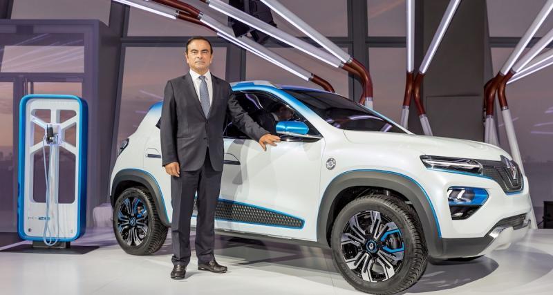 Renault K-ZE : un Kwid électrique pour la Chine