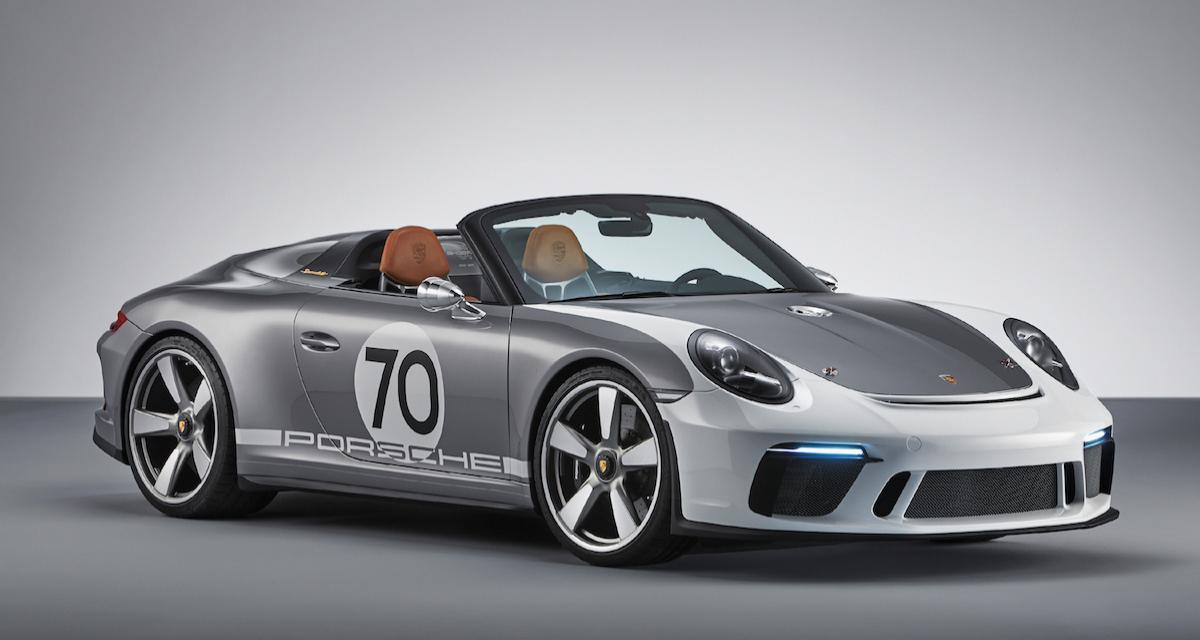 Porsche 911 Speedster : production confirmée, nouvelle version au Mondial