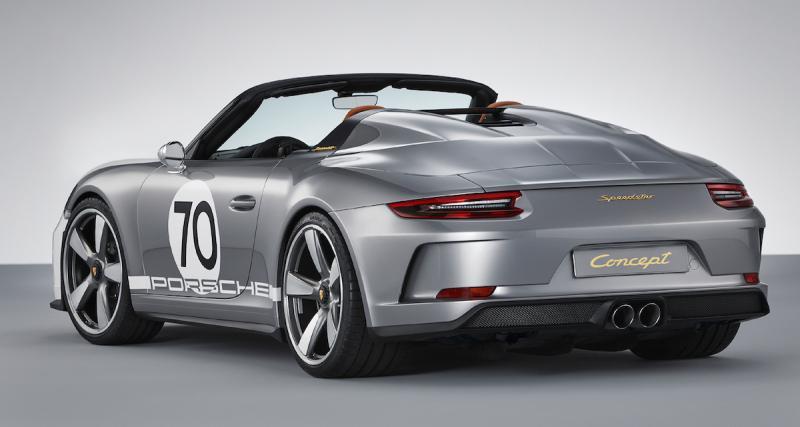 La 911 Speedster de série sans doute au salon de Los Angeles