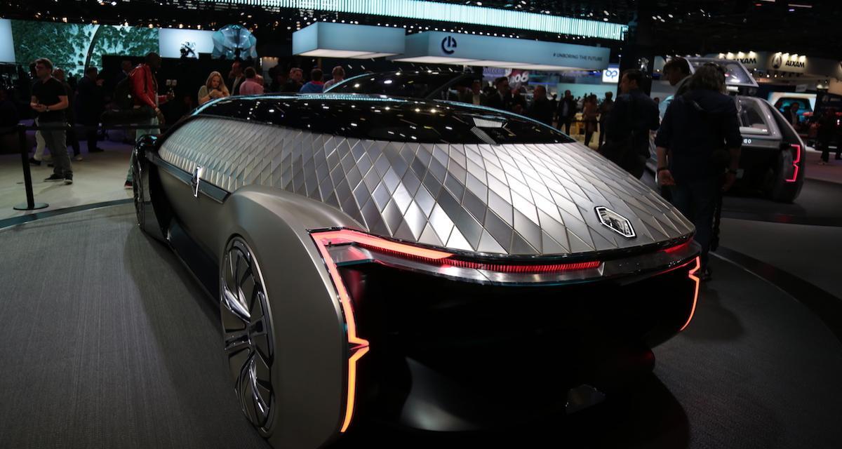Renault EZ-ULTIMO : limousine autonome à la demande