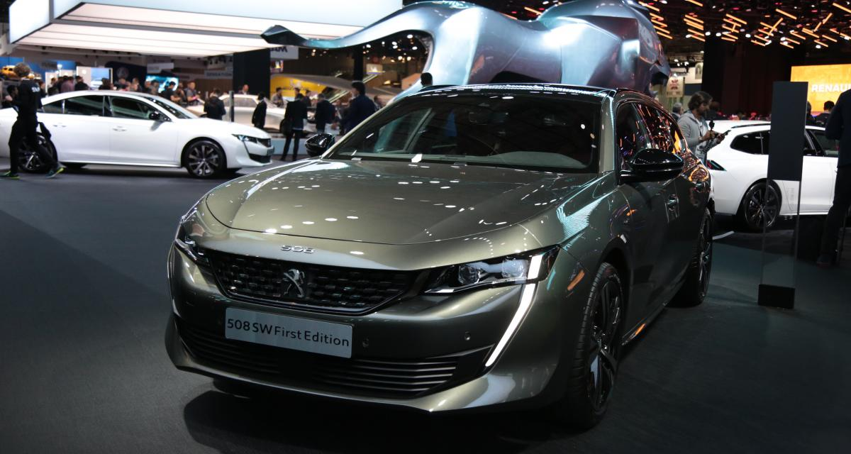 Mondial de l'Auto 2018 : nos photos de la Peugeot 508 SW First Edition