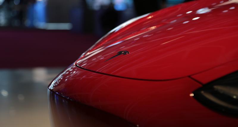 Mondial de l'Auto 2018 : nos photos de la Tesla Model 3
