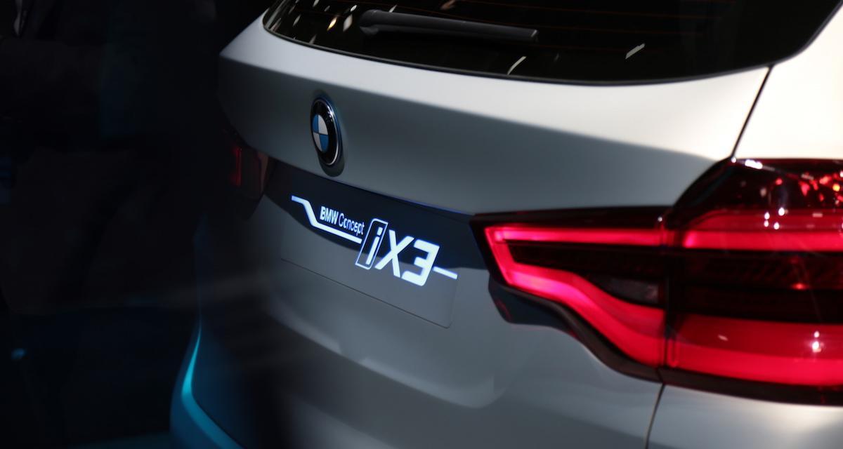 Mondial de l'Auto 2018 : nos photos de la BMW iX3