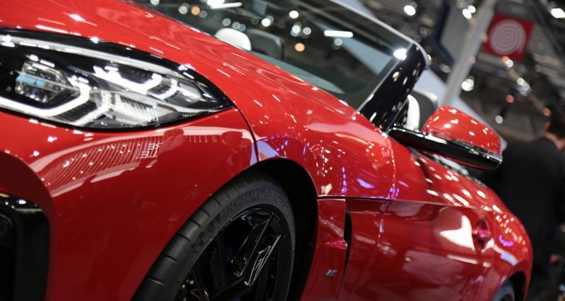 Mondial de l'Auto 2018 : nos photos de la BMW Z4