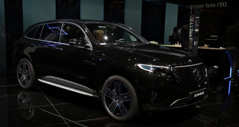 Mondial de l'Auto 2018 : nos photos du Mercedes EQC