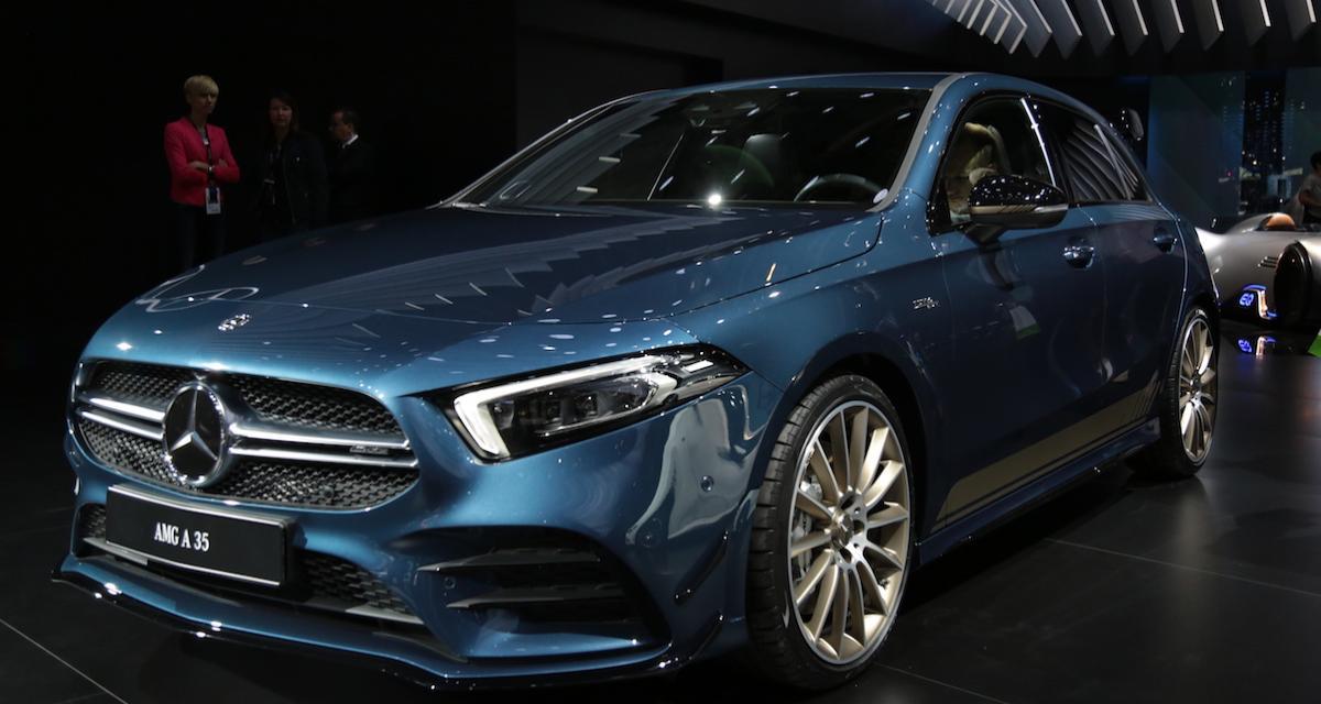 Mondial de l'Auto 2018 : nos photos de la Mercedes Classe A 35 4Matic
