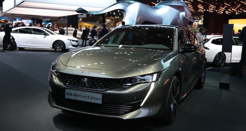 Peugeot 508 SW First Edition : une série spéciale pour le lancement