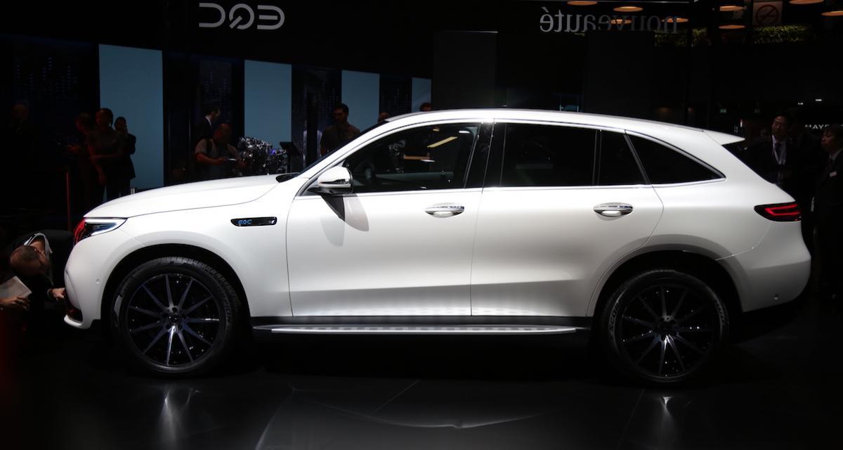 Mercedes EQC: le SUV électrique selon Stuttgart