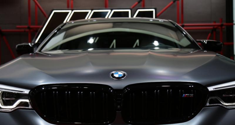 BMW M5 Competition : toujours plus