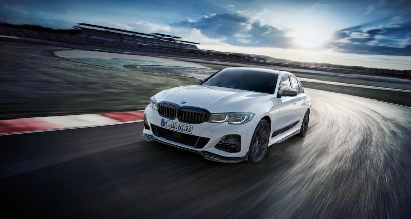 Nouvelle BMW Série 3 : déjà les pièces M Performance