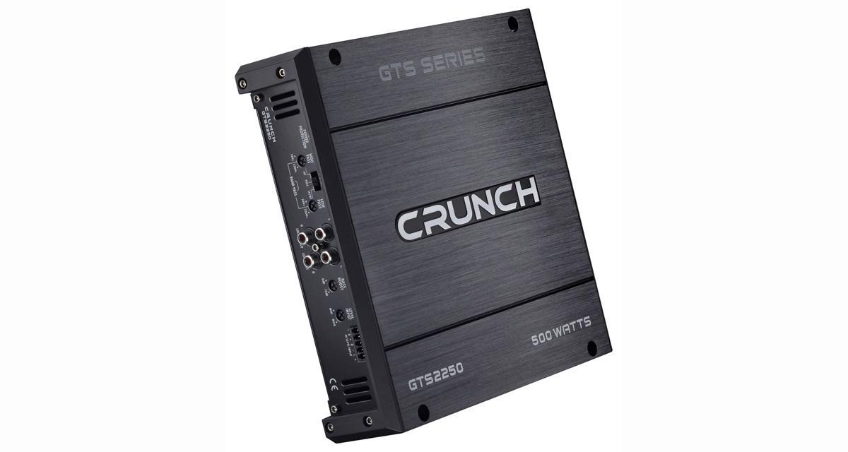 Les amplificateurs GTS de Crunch renouvelés pour un rapport qualité/prix très attractif