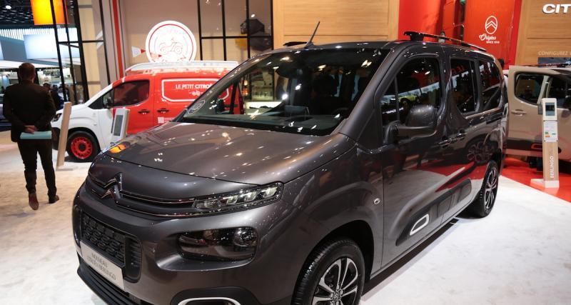 Mondial de l'Auto 2018 : nos photos du Citroën Berlingo